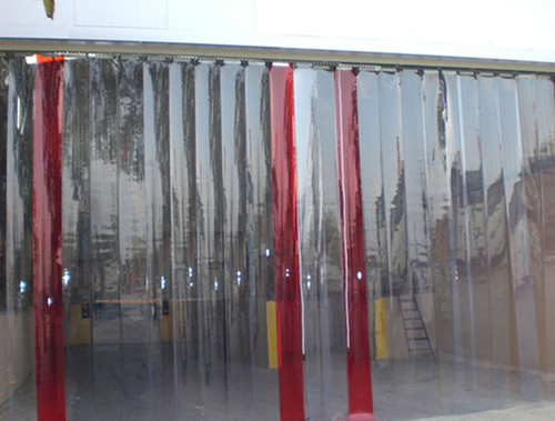 Here Is Why You Should Consider Installing PVC Strip Curtains In Your  Office | SINHI PVC